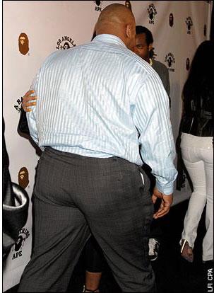 Майк Тайсон набирает вес
