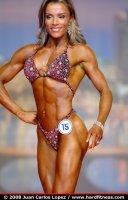 Фитнес красотка Kristal Richardson - IFBB профи