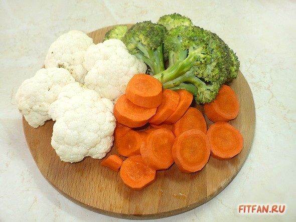 Овощное суфле