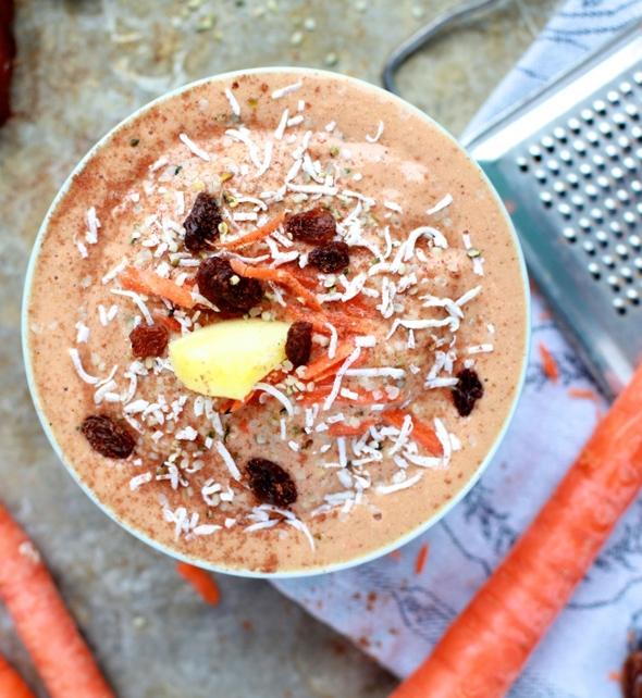Низкокалорийный морковно-имбирный мусс