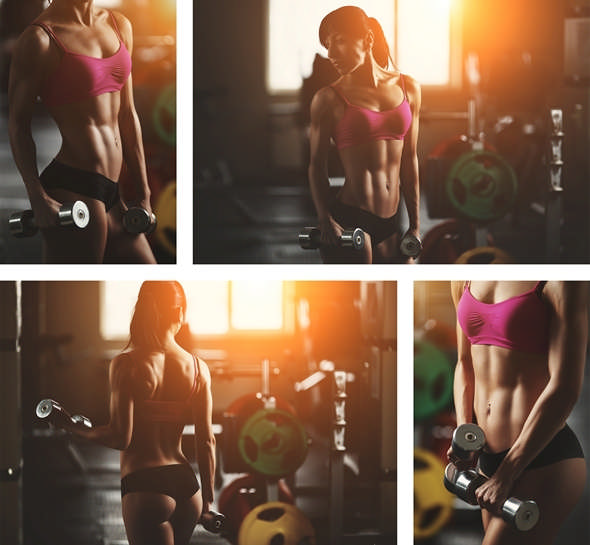 Женская программа тренировок в круговом стиле