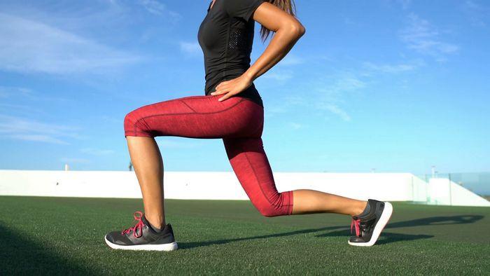 Интенсивная круговая тренировка для нижней части тела