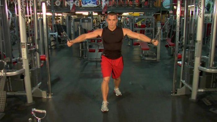 Сведение рук в кроссовере и аналогичные упражнения