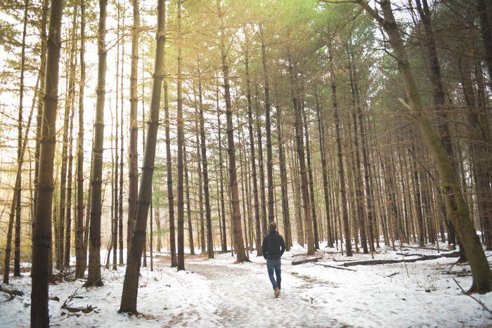10 способов сжечь калории на открытом воздухе зимой