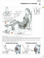 Разведение ног на тренажере для ягодиц - Упражнения для ног.