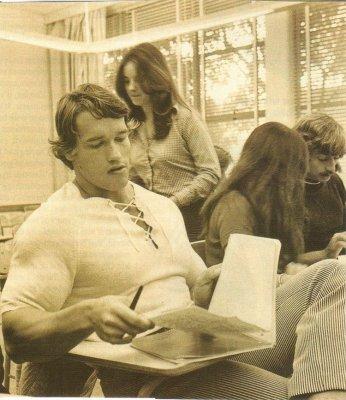 Арнольд в молодости - подборка фото
