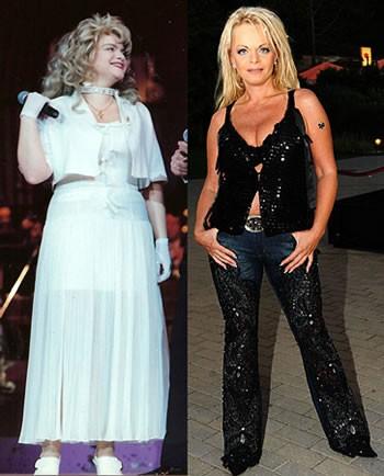 Фото российских звезд до и после похудения фото