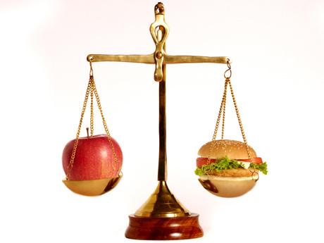 Весы здоровье рацион диета