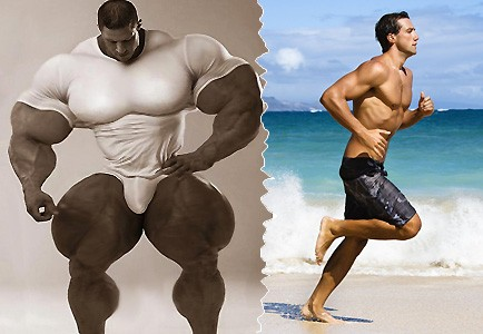 Нужны ли мужчине огромные мышцы?