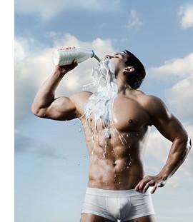 Молоко в помощь бодибилдеру