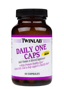 Daily One Caps Without Iron