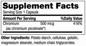 Mega Chromium Picolinate