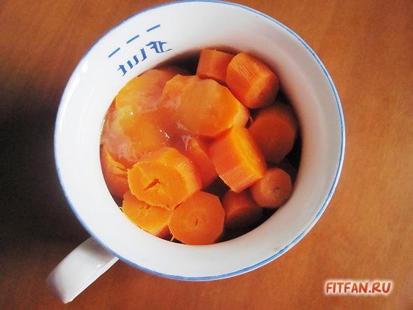 Морковные «рафаэлло» с миндалем