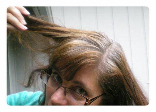 Как выкрасить волосы в седой