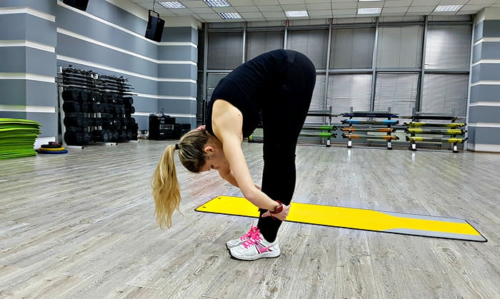 Продольный шпагат - комплекс упражнений
