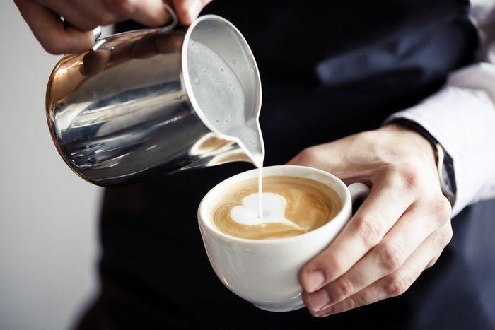 Лишние калории из кофе и чая